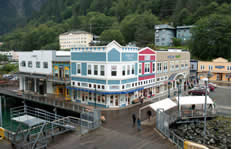 Port of Juneau shuttle to the airport