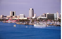 Long Beach Convention and Entertainment Center shuttle to the airport