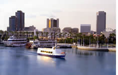 Port of Long Beach shuttle to the airport