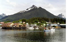 Port of Sitka shuttle to the airport