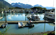 Port of Valdez shuttle to the airport