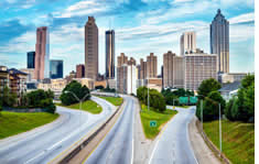 Downtown Atlanta shuttle to the airport