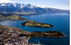 Queenstown shuttle to the airport